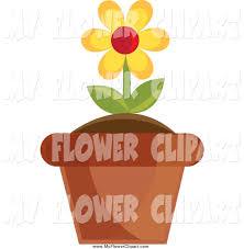 Clipart Vase Of Flowers Daisy Flowers