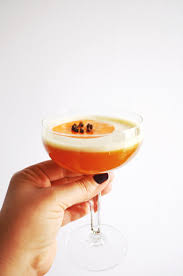 bourbon persimmon amaretto sour u2014 drinking with chickens