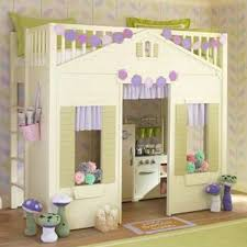 Best Cool Loft Beds Images On Pinterest Architecture - Loft bunk beds for girls