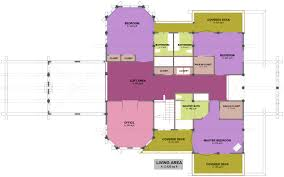 Open Concept Home Plans Sanctuary Log Home Plan Homes Canada Sq Ft Bedroom Open Concept
