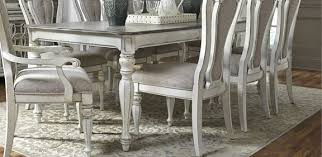 Antique White Dining Room Furniture Antique White 5 Piece Dining Set Magnolia Manor Rc Willey