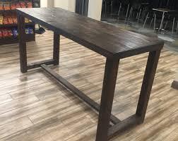 restaurant high top tables reclaimed wood bar restaurant counter community rustic custom