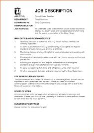 Warehouse Responsibilities Resume Retail Sales Representative Job Description Resume Free Resume