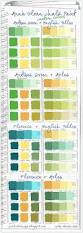 Yellow Swatches Colorways Annie Sloan Chalk Paint Green Custom Color Swatches
