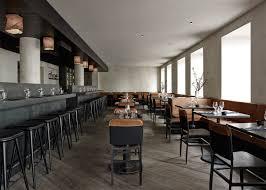 2017 Interior Trends Black Lines Unprogetto Simple Materials Shape Space Copenhagen Restaurant Interior