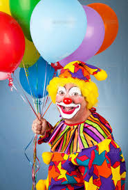 clown baloons happy clown with balloons clowns