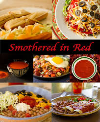 Red Kitchen Recipes - dishes smothered in new mexico red chile from mj u0027s kitchen