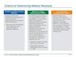 addressing medical necessity denials and recoupments