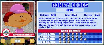 Pete Wheeler Backyard Baseball Backyard Baseball Player Rankings Part 1 The Guys U2014 Too Much Tuma