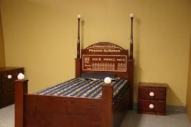 Baseball Bed Frame Special Edition Baseball Bed With Custom Signed Bats Custom