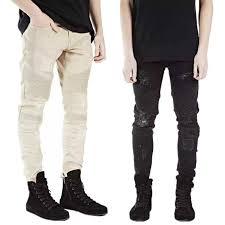 Mens Destroyed Skinny Jeans February 2014 Billie Jean