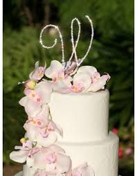 letter wedding cake toppers monogram wedding cake toppers advantagebridal
