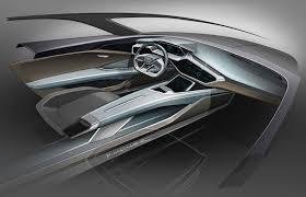 subaru suv concept interior audi e tron suv tesla style q6 crossover bows in frankfurt by car