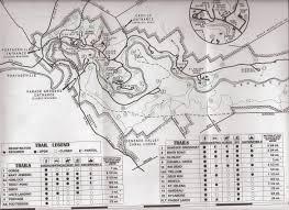 Fall Creek Falls Map Hiking Trails At Letchworth State Park