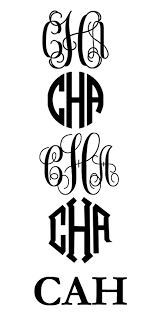 monogram websites free circle monogram fonts monogrammed pinteres