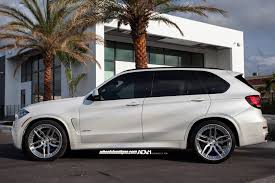 Bmw X5 White - bmw x5 adv005 track spec cs wheels adv 1 wheels
