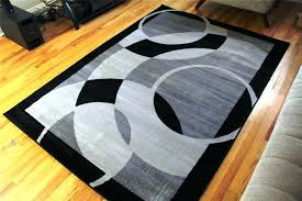 Large Grey Area Rug Furniture Black Area Rugs 8x10 Image Of And Gray Rug Impressive