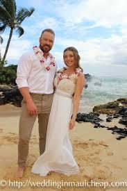 hawaiian themed wedding dresses simple wedding package a affordable barefoot wedding