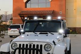 Jeep Led Lights How Many Led Lights Can You Equip Onto A Jeep Wrangler Ijdmtoy