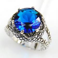silver sapphire rings images Skyrim silver blue sapphire ring jpg