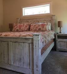 bedroom sheet sets distressed wood furniture cheap rustic queen size bedroom set bed dresser and two bedside tables