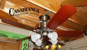 ceiling chic casablanca ceiling fans in five blade slinger and