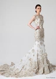 gold wedding gown rani zakhem 2014 wedding dresses summer 2014 wedding