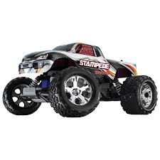 traxxas monster jam rc trucks traxxas stampede 2wd 1 10 scale rc truck silver rc cars u0026 land