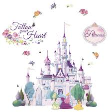 shop disney princess castle mini mural at lowes com disney princess castle mini mural