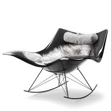Rocking Chair With Cushions Stingray Rocking Chair By Fredericia Connox Shop
