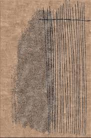 Modern Rugs Nyc Multiforms Ii By Michael Souter Ink Blue Rug Chagne Rug