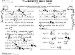 a thanksgiving story printable festival collections