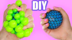 diy cool squishy stress how to make the coolest stress