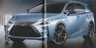 lexus suv used ct 2017 lexus ct 200h rendered to debut in january 2017 autoevolution