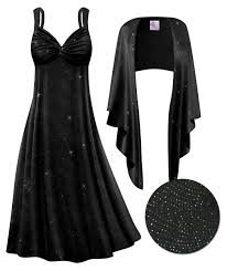 big and tall halloween costumes 5x customizable 2 piece black glittery lines slinky plus size