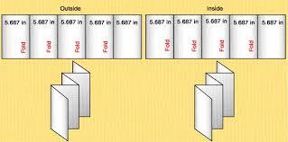 6 panel brochure template 6 panel brochure template 14 standard types brochure size in