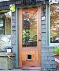 Patio Panel Pet Door by Entry Door With Pet Door Berkeley Mills