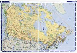 Africa Time Zone Map by Large Detailed Highways Map Of Canada With Time Zones Vidiani