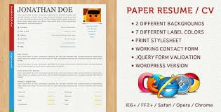 40 fantastic resume cv templates to show off your skills best