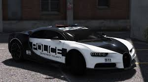car bugatti chiron bugatti chiron pursuit police add on replace template
