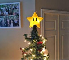unique tree topper mario bros power christmas tree topper
