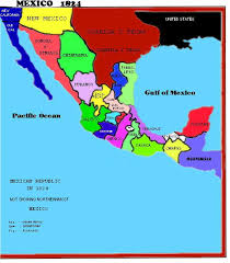 map of mexico 1821 map archive