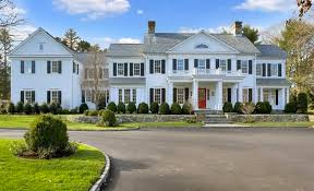 colonial mansion 7 295 million newly built colonial mansion in greenwich ct homes