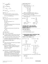holt geometry complete solutions manual 2007