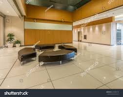 lounge area modern lobby hallway luxury stock photo 214926775