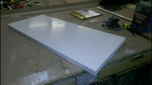 top corian corian top solid surface edge gluing
