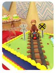 curious george cake topper 11 cakes based on kids books and tv shows curious
