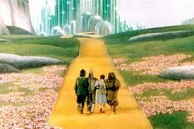 the real yellow brick road leads not to kansas but to a new york