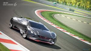 real futuristic cars futuristic peugeot from virtual race track driving plugin