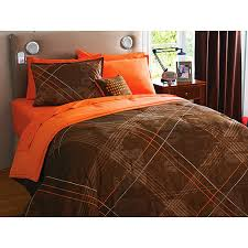 Orange Bed Sets Chevron Beddings